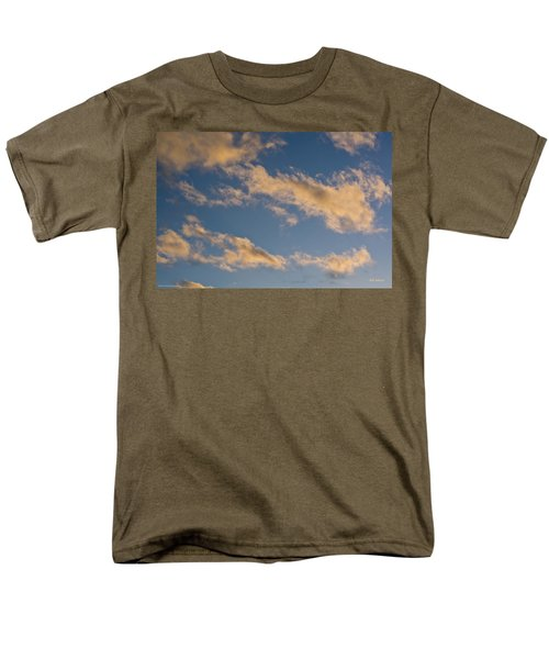 Men's T-Shirt  (Regular Fit) featuring the photograph Wind Driven Clouds by Mick Anderson