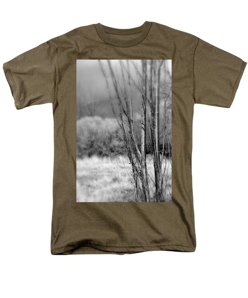 Men's T-Shirt  (Regular Fit) featuring the photograph Winters Branch by Kathleen Grace