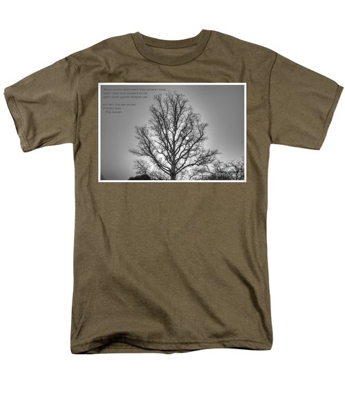 Without Hope... Men's T-Shirt  (Regular Fit) by Dan Stone