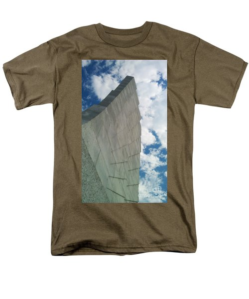 Wright Brothers Memorial Men's T-Shirt  (Regular Fit) by Tony Cooper