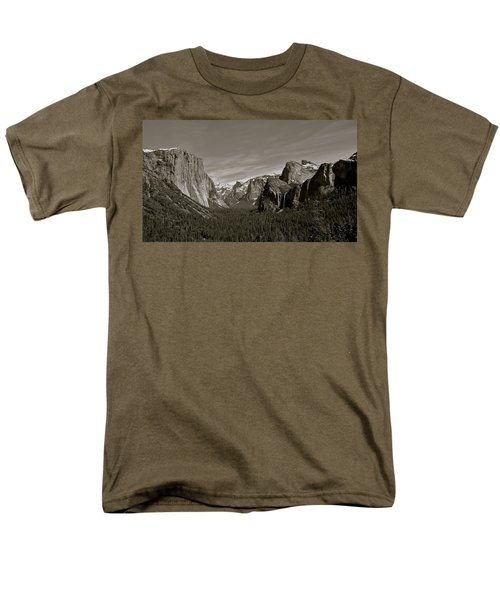 Men's T-Shirt  (Regular Fit) featuring the photograph Yosemite Valley by Eric Tressler