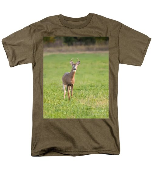 Men's T-Shirt  (Regular Fit) featuring the photograph Young Buck by Art Whitton