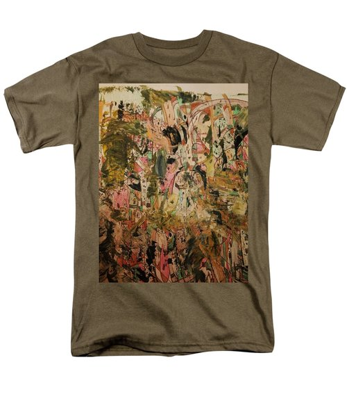 Men's T-Shirt  (Regular Fit) featuring the painting  A Taste Of Italy by Nancy Kane Chapman
