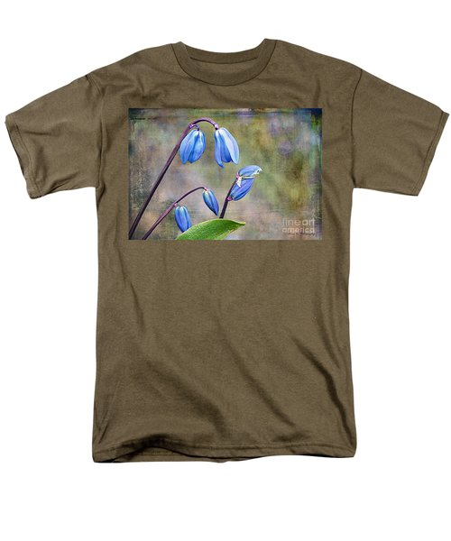 Bluebells And Beyond Men's T-Shirt  (Regular Fit) by Nina Silver