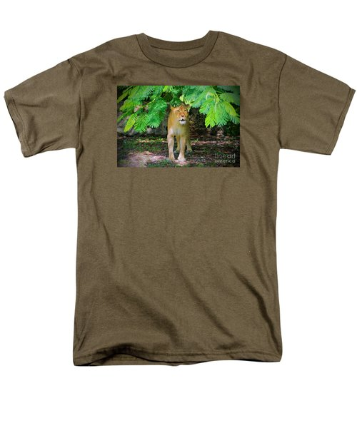 Men's T-Shirt  (Regular Fit) featuring the painting  Emerging From The Shadows by Judy Kay