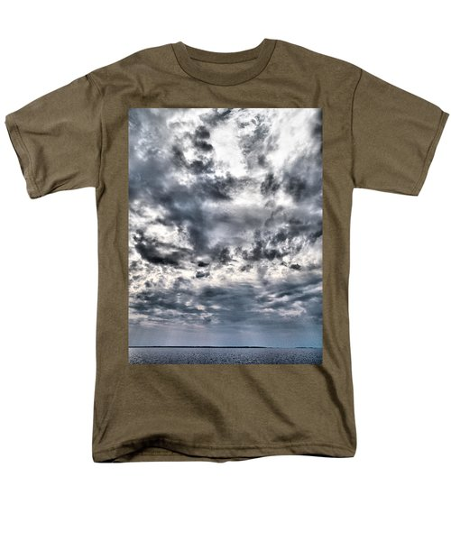 Men's T-Shirt  (Regular Fit) featuring the photograph  Mental Seaview by Jouko Lehto