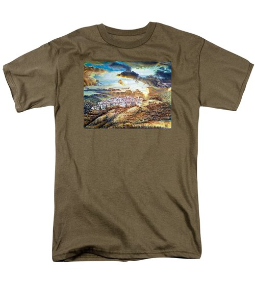 Moving Clouds Men's T-Shirt  (Regular Fit)