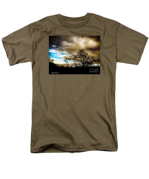 Storm  Coming  Men's T-Shirt  (Regular Fit) by MaryLee Parker
