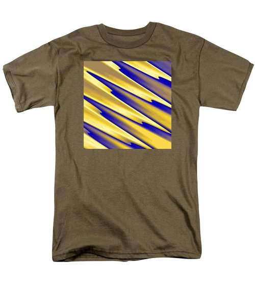 Men's T-Shirt  (Regular Fit) featuring the digital art  The Enemies  by Dragica  Micki Fortuna