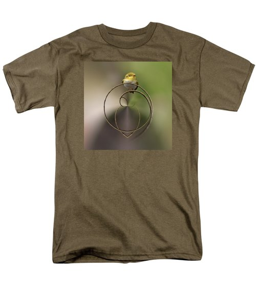Wood Warbler Men's T-Shirt  (Regular Fit) by Jouko Lehto