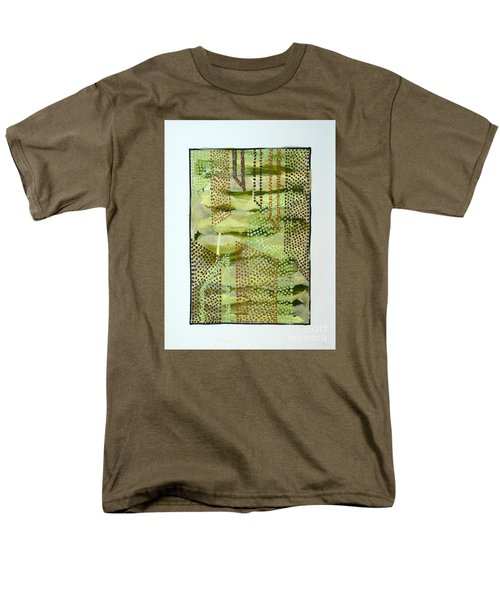 01328 Slide Men's T-Shirt  (Regular Fit) by AnneKarin Glass