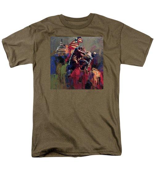 062 Jima Marine Memorial Washington Dc Men's T-Shirt  (Regular Fit) by Maryam Mughal