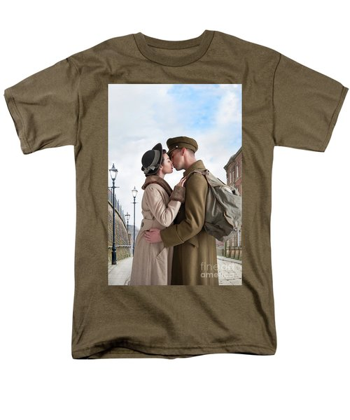 1940s Lovers Men's T-Shirt  (Regular Fit) by Lee Avison