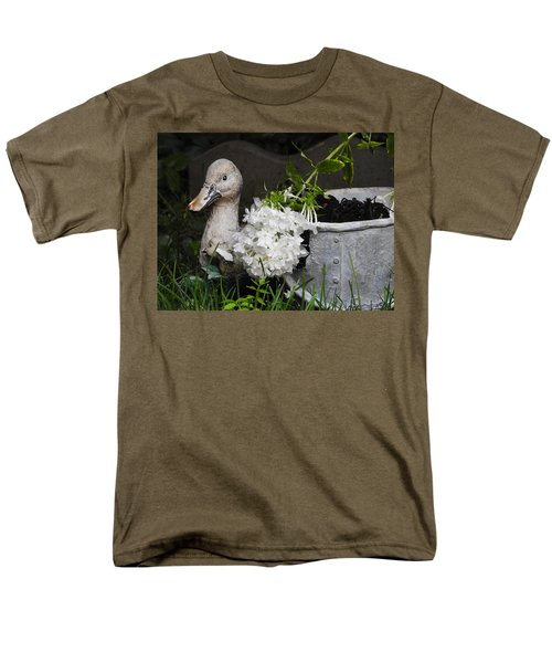Men's T-Shirt  (Regular Fit) featuring the photograph After The Rain by Betty-Anne McDonald