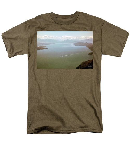 Men's T-Shirt  (Regular Fit) featuring the photograph Alaska The Beautiful by Madeline Ellis