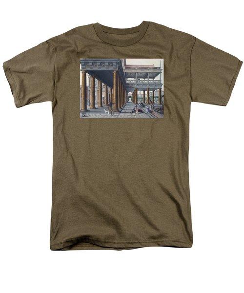 Architectural Caprice With Figures Men's T-Shirt  (Regular Fit) by Hans Vredeman de Vries