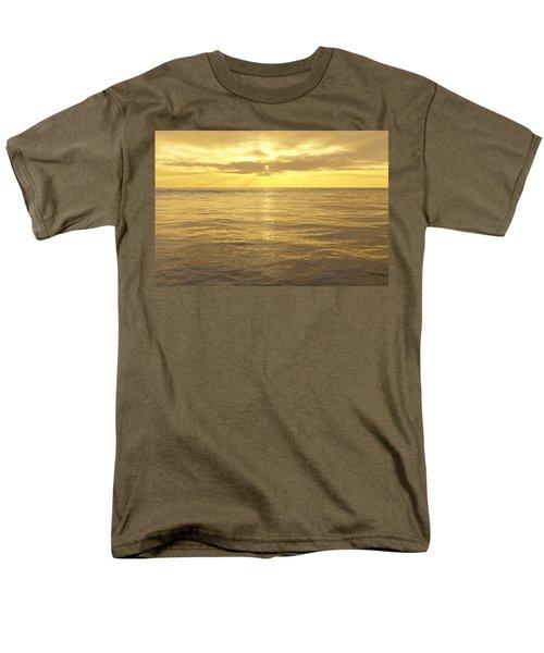 Men's T-Shirt  (Regular Fit) featuring the digital art Ocean View by Mark Greenberg
