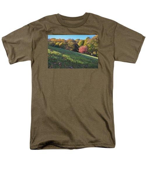 Men's T-Shirt  (Regular Fit) featuring the photograph Autumn Palette by Tom Singleton