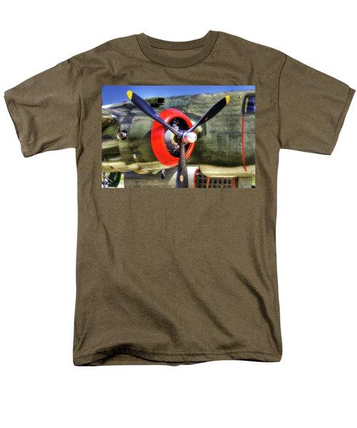 B-25 Men's T-Shirt  (Regular Fit) by Joe  Palermo