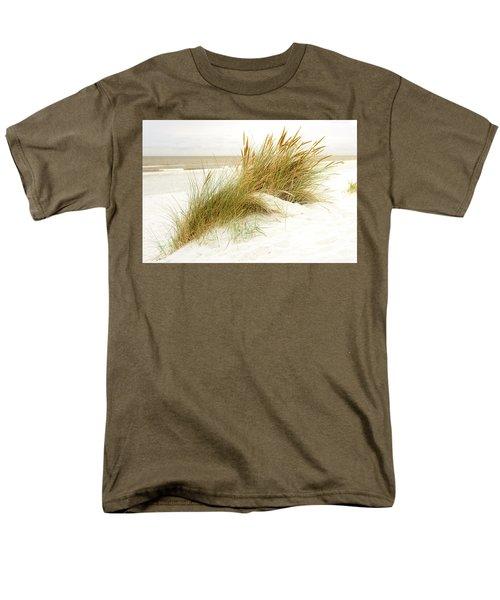 Men's T-Shirt  (Regular Fit) featuring the photograph Beach Grass by Hannes Cmarits