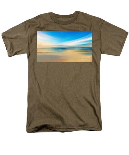 Beach Sunrise Men's T-Shirt  (Regular Fit) by Anthony Fishburne