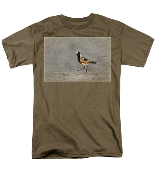 Black-winged Lapwing Art Men's T-Shirt  (Regular Fit) by Kay Brewer