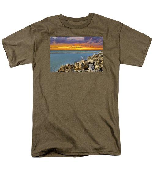 Blind Pass Sunset Men's T-Shirt  (Regular Fit) by Sean Allen