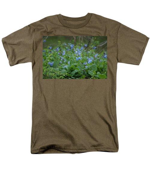 Blue Bells Men's T-Shirt  (Regular Fit) by Heidi Poulin