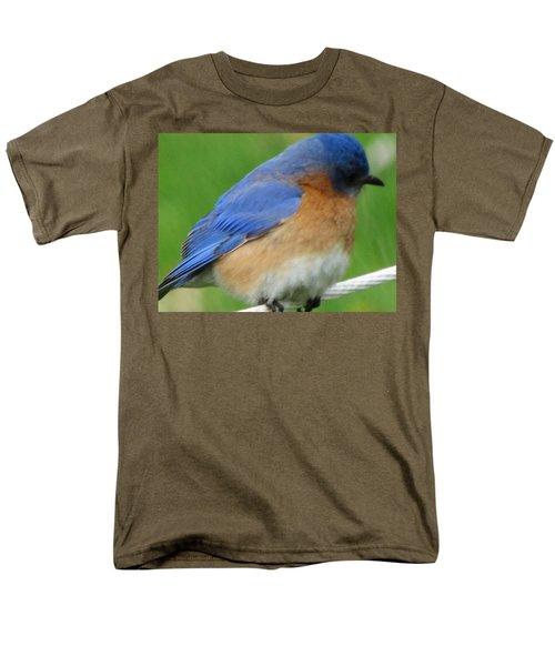 Men's T-Shirt  (Regular Fit) featuring the painting Blue Bird by Betty Pieper