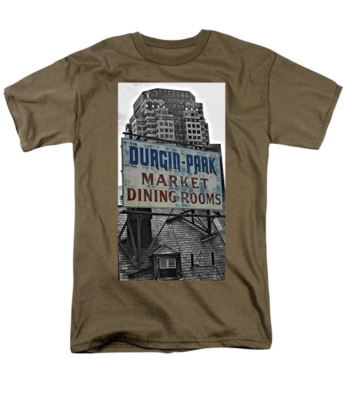 Men's T-Shirt  (Regular Fit) featuring the photograph Boston Icon by Bruce Carpenter