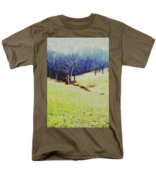 Men's T-Shirt  (Regular Fit) featuring the photograph Brandywine Landscape by Sandy Moulder