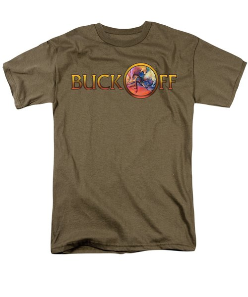 Buck Off Men's T-Shirt  (Regular Fit) by Rob Corsetti