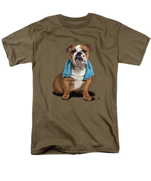 Bull Men's T-Shirt  (Regular Fit) by Rob Snow