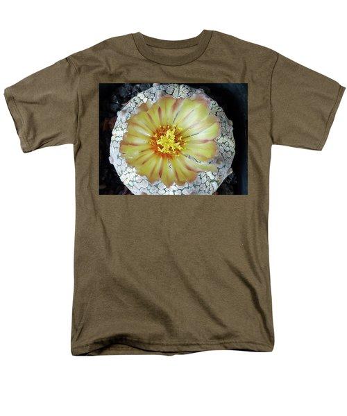 Cactus Flower 2 Men's T-Shirt  (Regular Fit) by Selena Boron