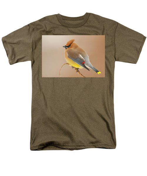 Cedar Wax Wing Men's T-Shirt  (Regular Fit) by Carl Shaw