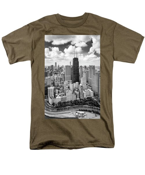Chicago's Gold Coast Men's T-Shirt  (Regular Fit) by Adam Romanowicz