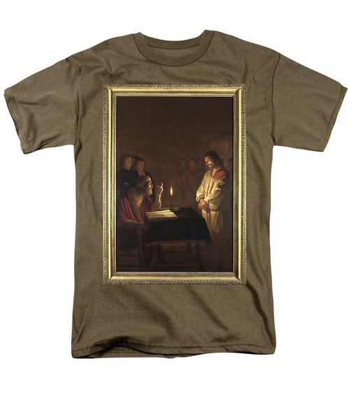 Christ Before The High Priest Men's T-Shirt  (Regular Fit) by Gerrit van Honthorst
