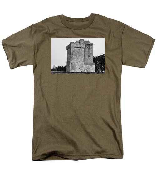 Clackmannan Tower Men's T-Shirt  (Regular Fit) by Jeremy Lavender Photography