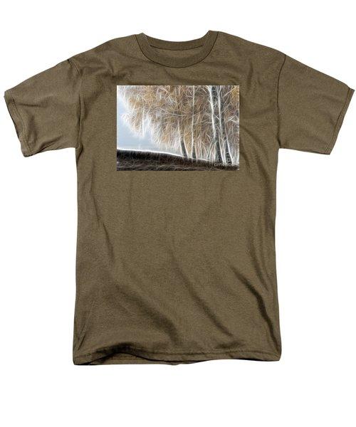 Colorful Misty Forest Men's T-Shirt  (Regular Fit) by Odon Czintos