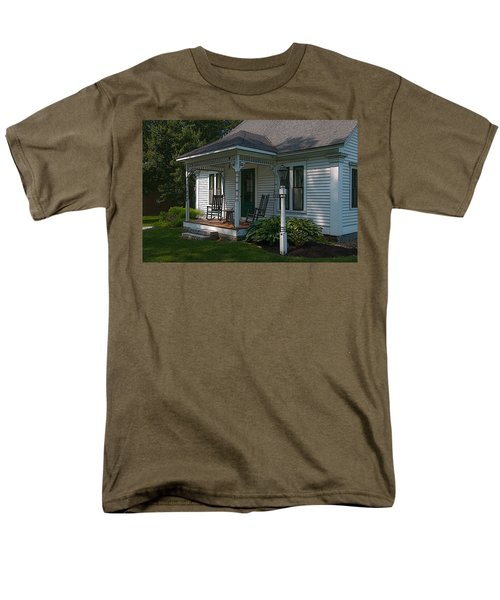 Come Sit On My Porch Men's T-Shirt  (Regular Fit) by Brenda Jacobs