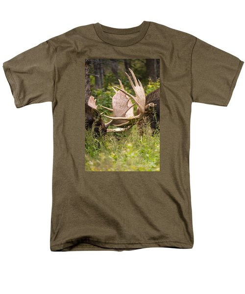Men's T-Shirt  (Regular Fit) featuring the photograph Engaged by Aaron Whittemore
