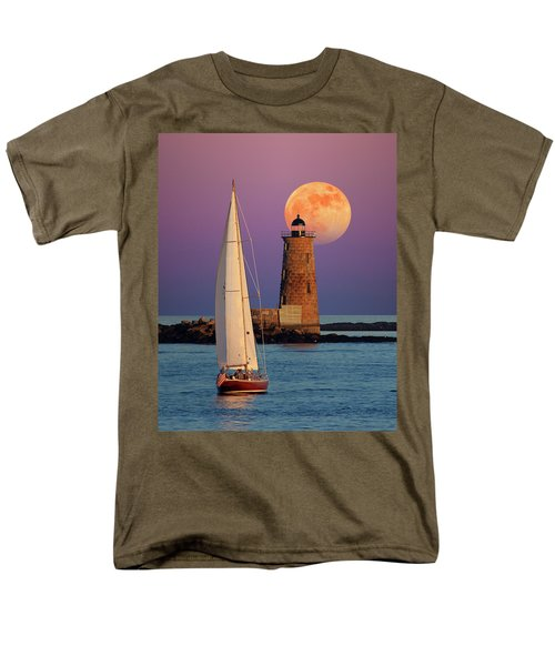 Men's T-Shirt  (Regular Fit) featuring the photograph Convergence by Larry Landolfi