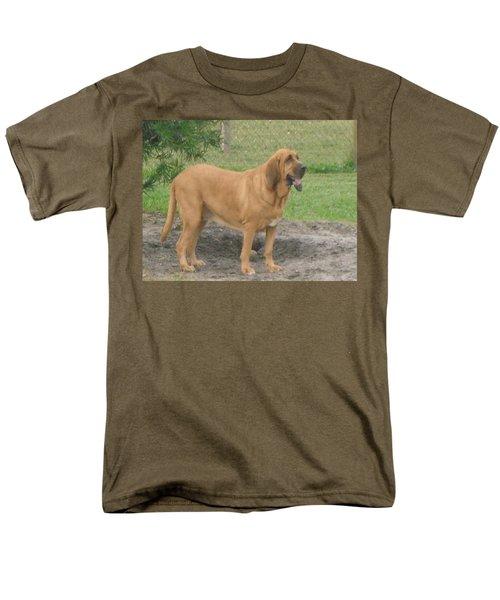Cujo At The Park Men's T-Shirt  (Regular Fit) by Val Oconnor