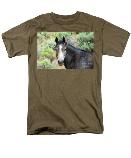 Men's T-Shirt  (Regular Fit) featuring the photograph Curious by Michele Penner