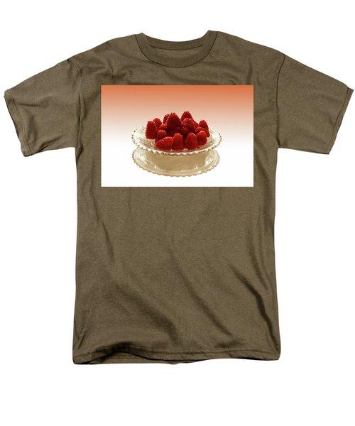 Delicious Raspberries Men's T-Shirt  (Regular Fit)