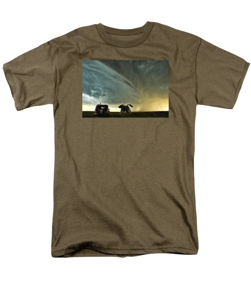Dominating The Storm Men's T-Shirt  (Regular Fit) by Ryan Crouse