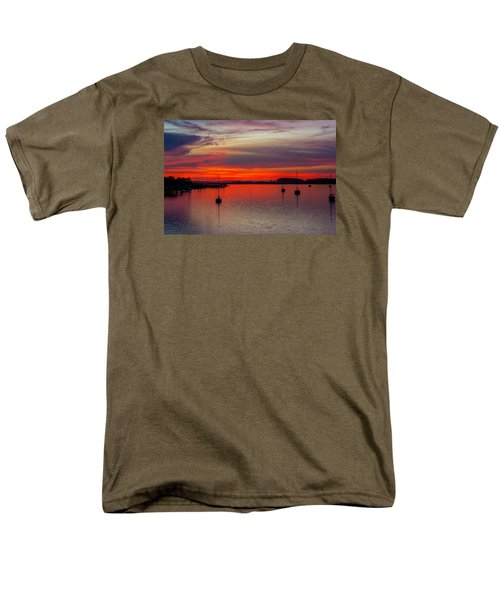 Men's T-Shirt  (Regular Fit) featuring the photograph Dusk by RC Pics