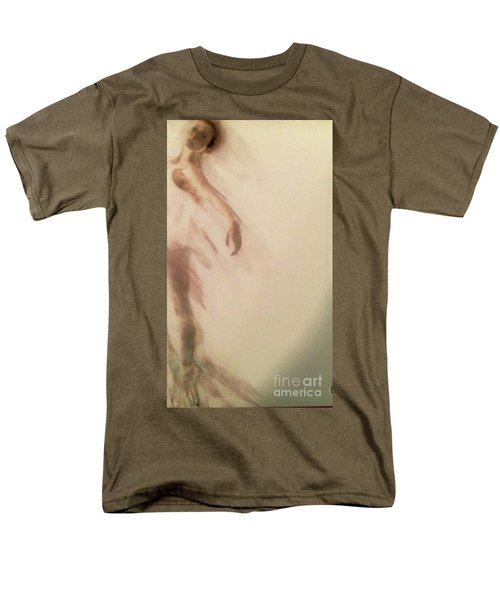 Men's T-Shirt  (Regular Fit) featuring the painting Dust In The Wind by FeatherStone Studio Julie A Miller