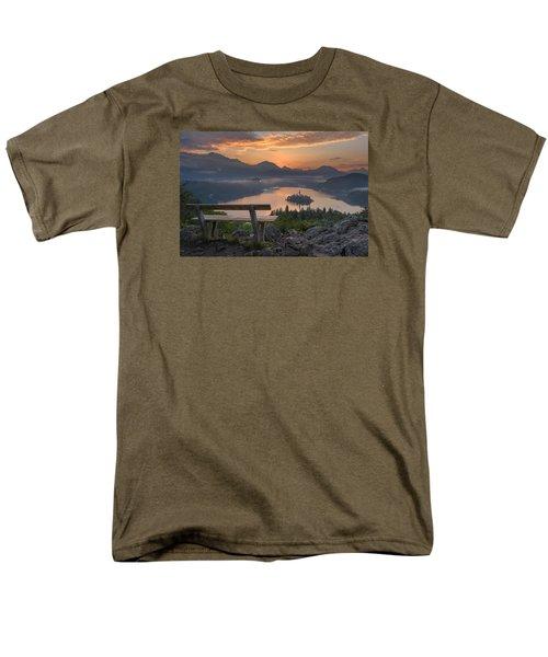 Early Morning Men's T-Shirt  (Regular Fit) by Robert Krajnc