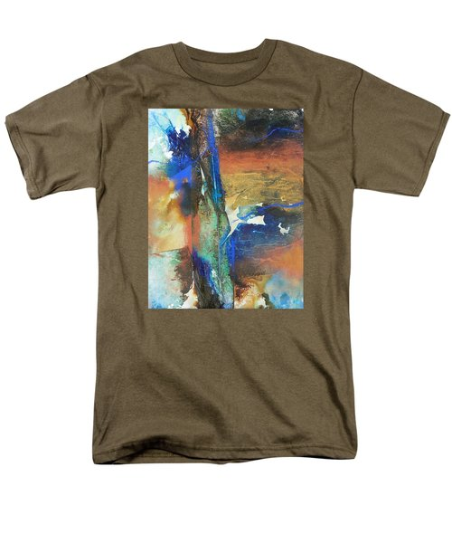 Electric And Warm Men's T-Shirt  (Regular Fit) by Becky Chappell